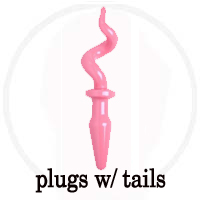 Butt Plugs with Tails