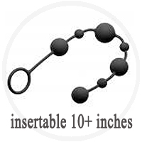 Anal Beads Insertable 10 Plus Inches