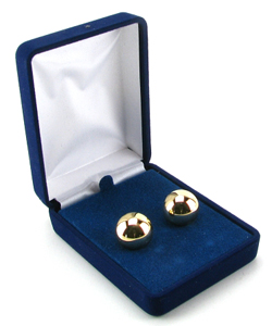 Ben Wa Balls in Blue Velvet Case