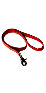 Red Basics Leash  ~  KL277