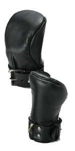 Strict Leather Deluxe Padded Fist Mitts ~ XR-ST540