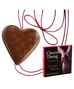 Heart Shaped Chocolate Thong for Her