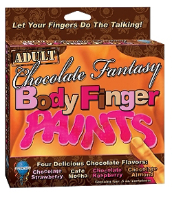Chocolate Fantasy Body Finger Paints