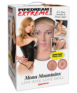 Mona Mountains Blow Up Love Doll
