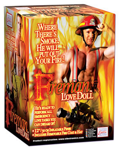 Fireman Life Size Male Love Doll