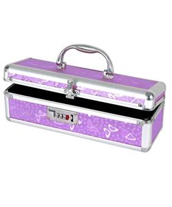 Lockable Vibe Case Small Purple