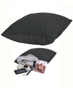 Hide Your Vibe Pillow Black ~ SS130-30